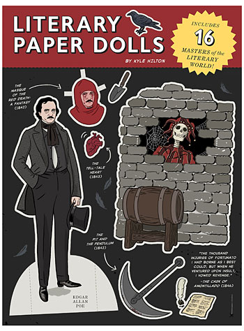 Literary Paper Dolls Book by Chronicle Books, Books, Black