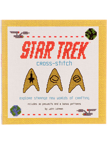 Star Trek Cross-Stitch Craft Book by Gallery Books, Books, Multi