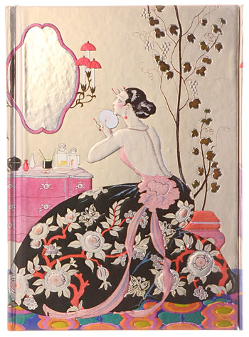 Barbier Backless Dress Gilded Journal by Flame Tree Publishing, Books, Multi