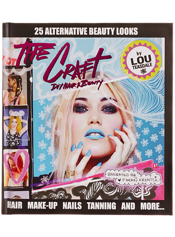 The Craft: Alternative DIY Hair and Beauty by Random House Books, Books, Multi, How-To Guide, Hairstyles, Punk, Goth, Festival, Makeup, Cosmetics, Gothic, Edgy, Eyeliner, Nail Polish, Nails, Eye Shadow, Hair Dye, Haircolor