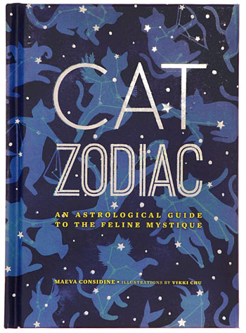 Cat Zodiac: An Astrological Guide by Chronicle Books, Books, Blue