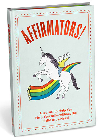Affirmators Journal to Help You Help Yourself by Knock Knock, Books, Rainbow