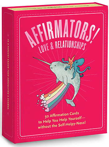 Affirmation Cards Love & Relationships by Knock Knock, Books, Rainbow
